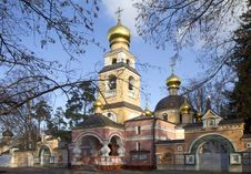 Free Russia. Temple Of The Saviour-Transfiguration Royalty Free Stock Image - 34616406