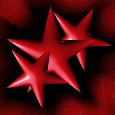 Free Red Stars Stock Image - 34618871