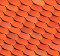 Free Seamless Roof Tiles. Vector Background. Royalty Free Stock Image - 34625586