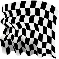 Free Checkered Flag Royalty Free Stock Photo - 34624215