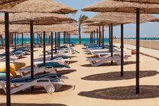 Deserted Beach Stock Image