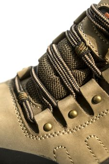Free Outdoor Hiking Shoe Details Royalty Free Stock Photos - 34627298