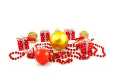 Xmas Toys Royalty Free Stock Image