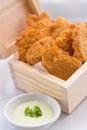 Free Crisp Fish Finger Nugget Stock Photography - 34631932