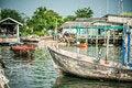Free Fishing Village Stock Photos - 34633223