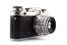 Free Old  Camera Royalty Free Stock Photography - 34630627