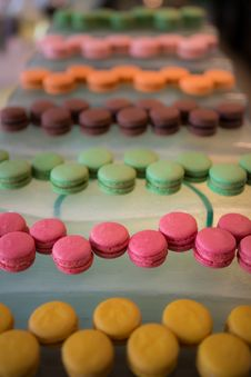 Free Variety Of Macaroon Royalty Free Stock Photography - 34632187