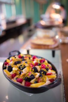 Free Mix Fruit Pie Tart Stock Image - 34632211