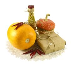 Free Thanksgiving Still Life Royalty Free Stock Photos - 34637428