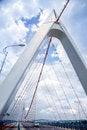 Free Tower Suspension Bridge Stock Image - 34640071