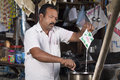 Free Roadside Tea Vendor Stock Image - 34644691