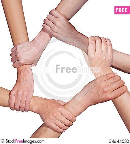 Free Hand Team Stock Photo - 34644530