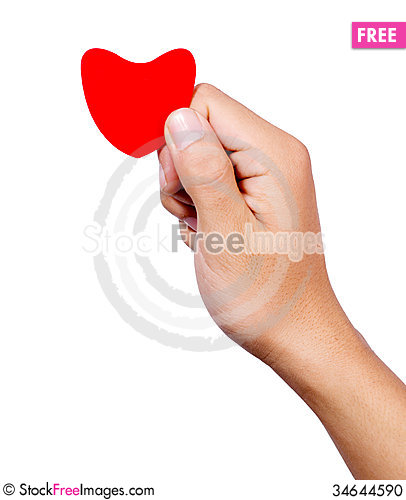 Free Hand Love Stock Photo - 34644590