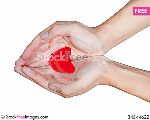 Free Hand Love Stock Photography - 34644622