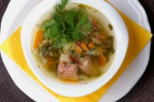 Free Vegetable Soup Stock Photography - 34643462