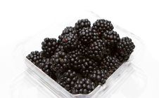 Free Punnet Of Blackberry Royalty Free Stock Photography - 34646167