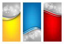 Free Colorful Vector Templates Set Stock Photos - 34647853