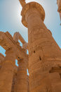 Free Huge Column In The  Karnak Temple Stock Photo - 34651980