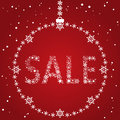 Free Christmas Sale Design Royalty Free Stock Photos - 34653198