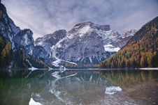 Free Autumn In Alps. Stock Photos - 34651473