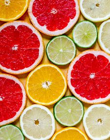 Free Citrus Fruits Royalty Free Stock Images - 34652329