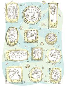 Free Horoscope Royalty Free Stock Photos - 34653708