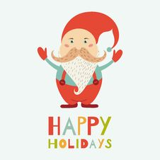 Free Vector Santa Claus Stock Photography - 34654942