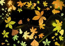 Free Abstract Autumn Background. Stock Images - 34656524