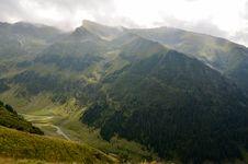 Free Travel To Romania: South View Of Transfagarasan Royalty Free Stock Photos - 34658758