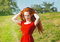 Free Redhead Woman Outdoor Royalty Free Stock Photo - 34652935
