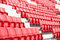Free Chairs In The Stadium Royalty Free Stock Photography - 34657587