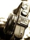 Free Rangefinder Camera Detail Stock Photography - 34669182