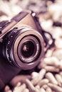 Free Retro Camera ,lens Stock Photos - 34669193