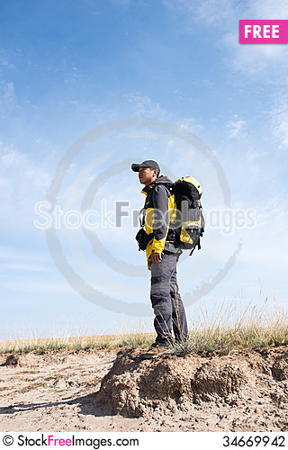 Free Hiking Stock Photography - 34669942