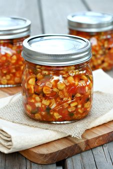 Free Roasted Corn Salsa Stock Photo - 34660660