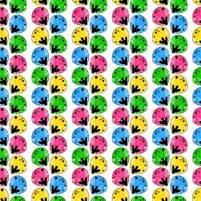 Free Seamless Abstract Pattern With A Multitude Of Elem Royalty Free Stock Image - 34663426