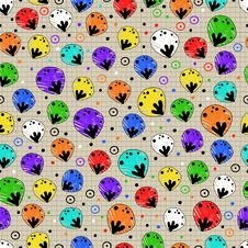 Free Bright Seamless Pattern Colors Of The Rainbow Stock Images - 34663434