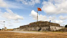 Free Flagtower At Imperial City Of Hue Stock Photo - 34664350