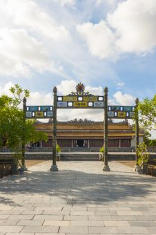 Free Palace Of Supreme Harmony At Citadel Royalty Free Stock Photography - 34664367