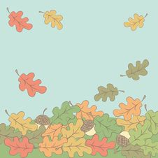 Free Autumn Leaves Background Stock Photos - 34665013