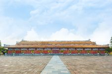 Free Temple Of The Generations In Citadel, Hue - Imperial City Royalty Free Stock Image - 34665996
