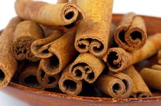 Free Cinnamon Sticks Stock Image - 34666401