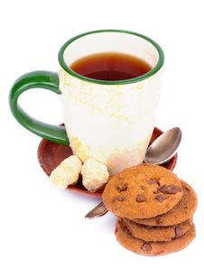 Free Tea Time Stock Photography - 34666412