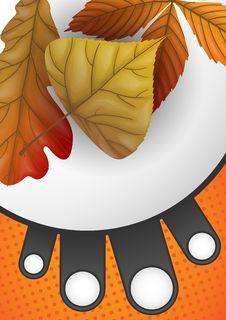 Free Autumn Sale. Stock Images - 34666774