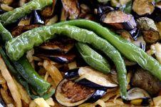 Free Mediterranean Vegetables Cooking Royalty Free Stock Photo - 34668375