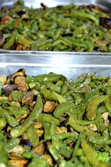 Free Mediterranean Vegetables Cooking Stock Image - 34669081