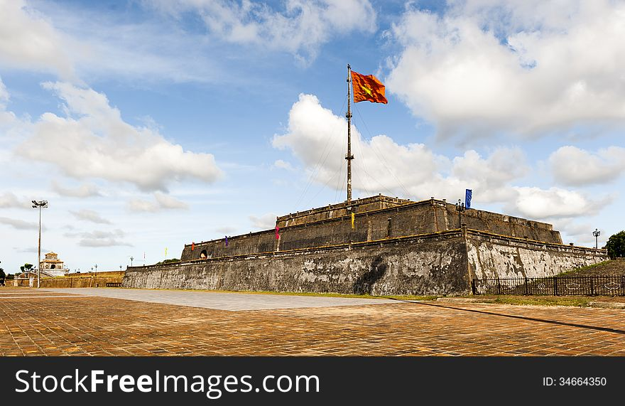 Flagtower at Imperial City of Hue