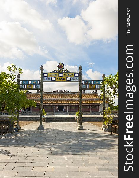 Palace of Supreme Harmony at Citadel