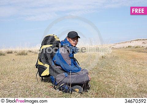 Free Hiking Stock Photography - 34670592