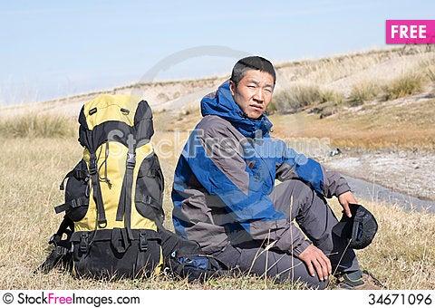 Free Hiking Royalty Free Stock Image - 34671096